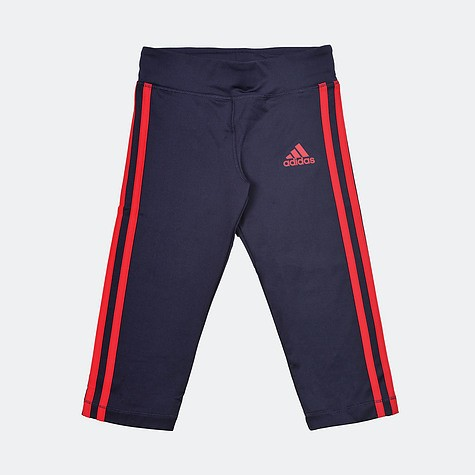adidas Youth Gear Up 3/ 4 Tight - Noble Ink/Energy Pink