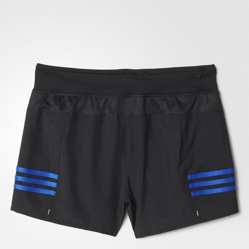 Adidas Response 4 inch Shorts - Black/Blue