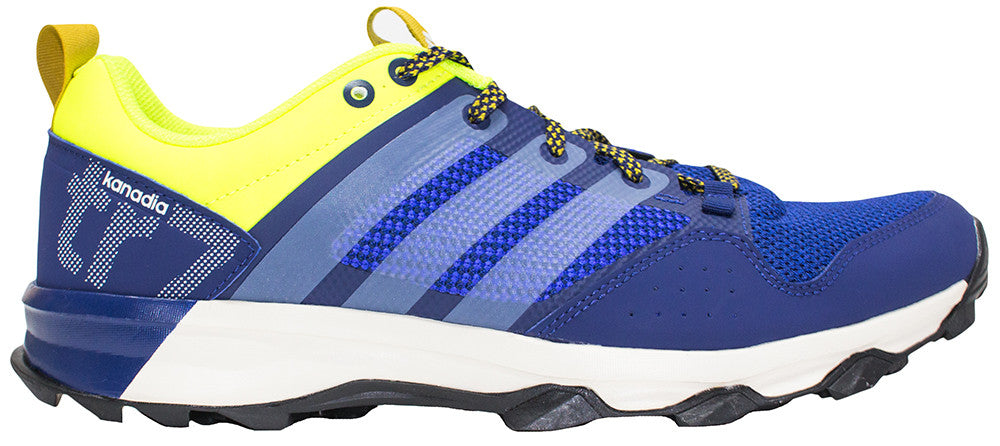adidas Kanadia 7 - Midnight Indigo/Chalk White/Solar Yellow