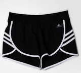 adidas Ultra Woven 3 Stripes Short - Black/White