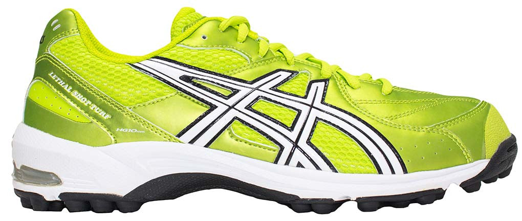 ASICS Lethal Shot Turf - Electric Green/White/Black