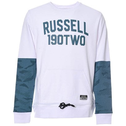 Russell Krush 190TWO Crew - White