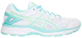 ASICS Gel Galaxy  9 - White/Aruba Blue/Safety Yellow