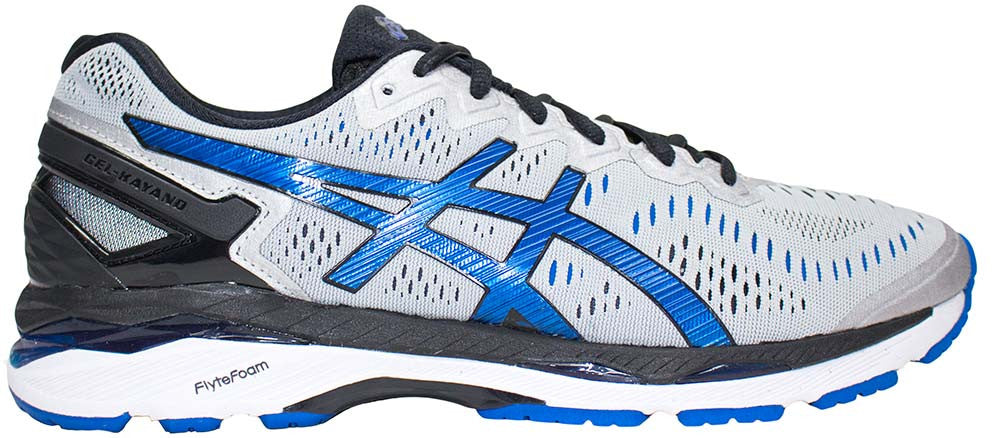 newest 32eab 53ae2 ASICS Gel Kayano 23 (2E) - Silver/Imperial/Black