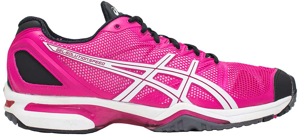 ASICS Gel Solution Speed - Beetroot Purple/White/Black