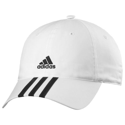 Adidas Climalite 3-stripes Cap - White/Black/Black