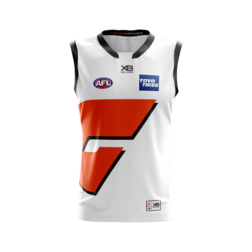 XBlades - Mens GWS Giants Replica Clash Guernsey 20 - White