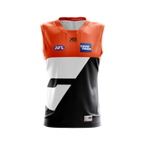 XBlades - Junior GWS Giants Replica Home Guernsey 20 - Orange/Gunmetal