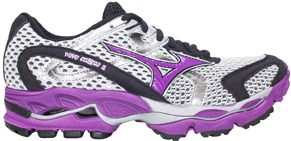 Mizuno Wave Enigma 2 - Silver/Black/Purple