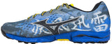 Mizuno Wave Hayate - Blue/Yellow