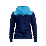 XBlades - Womens NSW Waratahs Zip-Up Hoodie - Navy/Sky