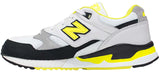 New Balance 530 - White/Black/Yellow