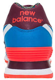 New Balance 574 - Blue/Orange