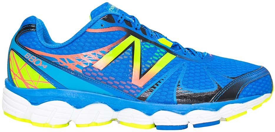 New Balance 880v4 (4E) - Bright Blue/Green Flash/Orange