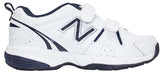 New Balance Kids 625 (W) (Velcro) - White/Navy