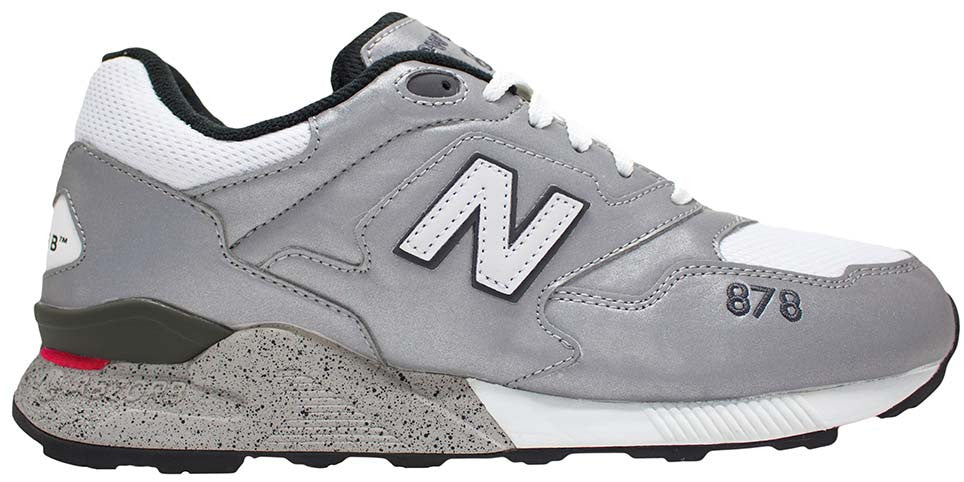 separation shoes 4809c 19ca0 New Balance 878 - Silver/White