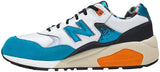 New Balance 580 Revlite Graffiti - Turquoise/White/Orange