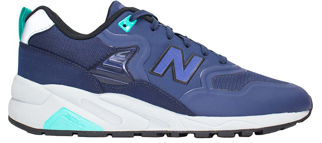check out f49ad 51212 New Balance 580 Re-Engineered - Navy/Turquoise