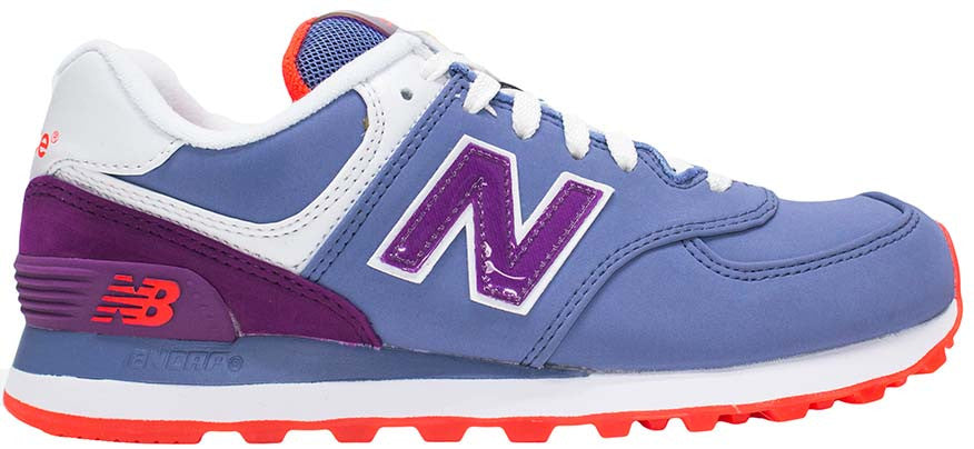 New Balance 574 - Purple/White