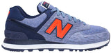 New Balance 574 - Blue/Navy/Red
