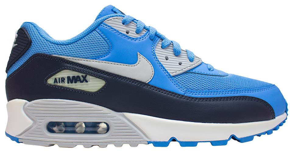 Nike Air Max 90 Essential - University Blue/Pure Platinum/Obsidian White