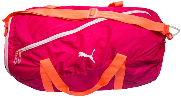 Just Sport Puma Fit At Large Sports Bag Peach