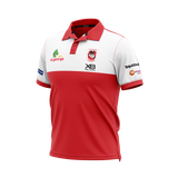 XBlades - Mens St George Illawarra Dragons Media Polo 20 - Red/White