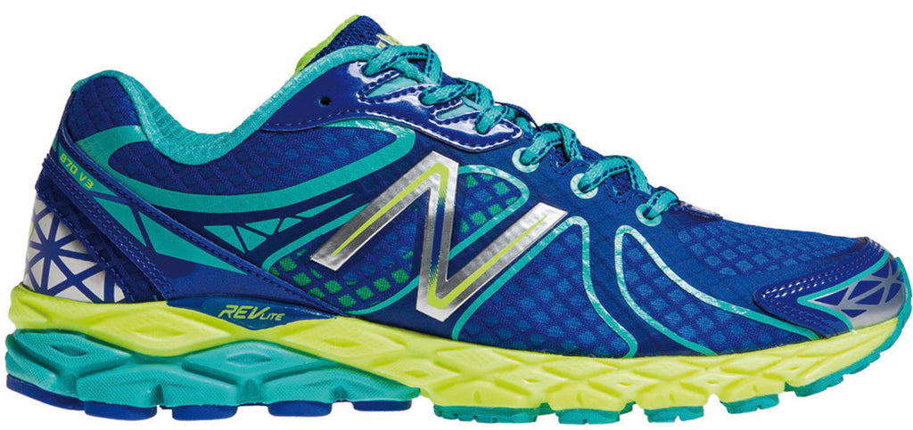 New Balance 870v3 (D) - Blue/Blue Atoll/Lime