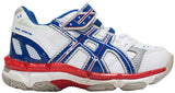 ASICS Gel 510 TR PS - White/Blue Lake/Hot Red