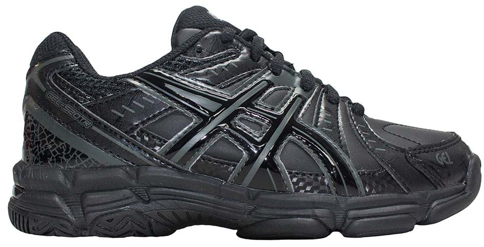 ASICS Gel 520TR GS - Black/Black/Dark Grey
