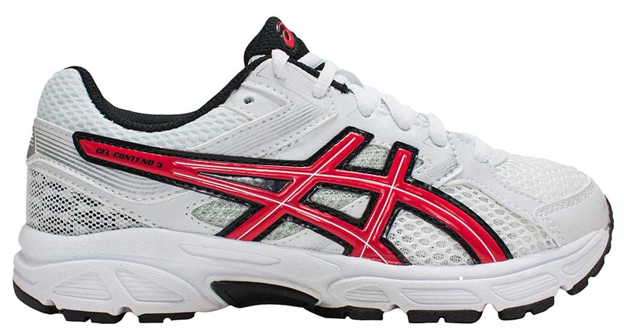 ASICS Pre Contend 3 PS - White/Fiery Red/Black