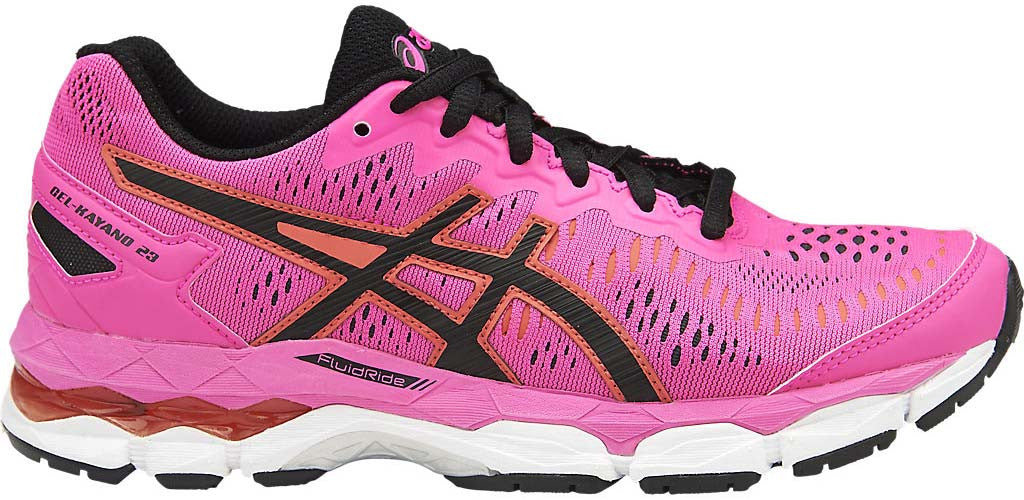 ASICS Gel Kayano 23 GS - Hot Pink/Black/White