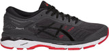 ASICS Gel Kayano 24 - Dark Grey/Black/Fiery Red