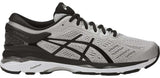 ASICS Gel Kayano 24 (2E) - Silver/Black/Mid Grey