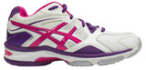 ASICS Gel Netburner 17 (D) - White/Burnt Red/Barossa