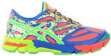 ASICS Gel Noosa Tri 10 GS - Flash Coral/Green Gecko/Flash Yellow