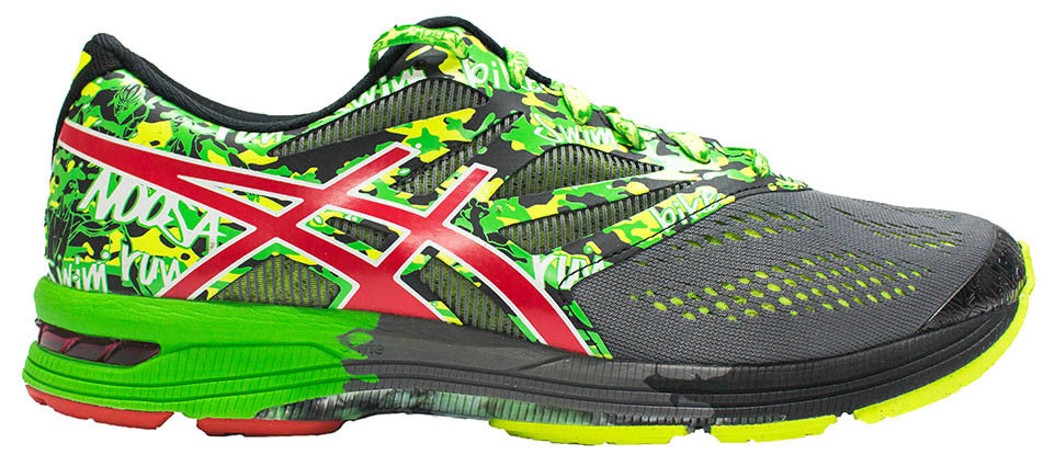 ASICS Gel Noosa Tri 10 - Carbon/Fiery Red/Green