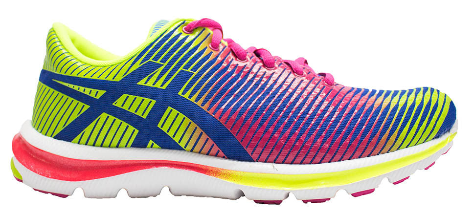 ASICS Gel Super J33 - Blue/Hot Pink/Flash Yellow