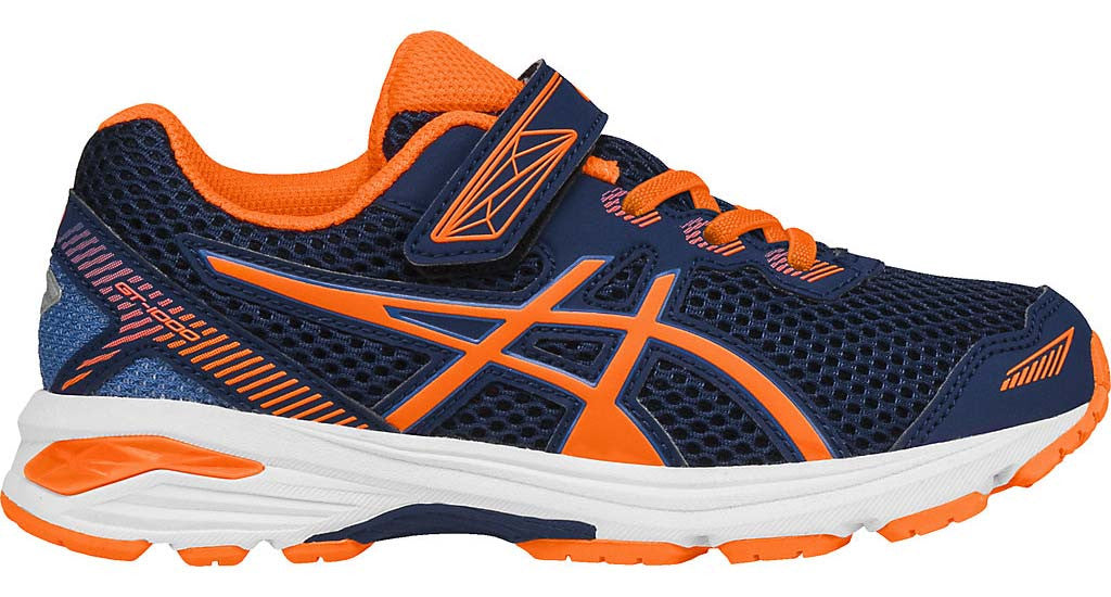 ASICS GT 1000 5 PS - Indigo Blue/Hot Orange/Thunder Blue