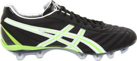 buy popular 569ee 96cdf ASICS Lethal Flash DS IT – Black White Neon Green ...
