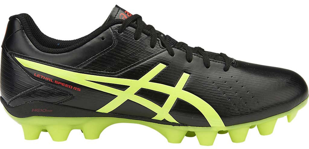 ASICS Lethal Speed RS - Black/Safety Yellow/Vermillion