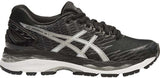 ASICS Gel Nimbus 18 (Womens) - Black/Silver/Carbon