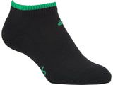 ASICS Pace Socks Low - Black/Green
