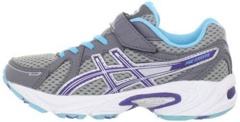 ... ASICS Pre Excite PS (Wide) - Lightning/Iris/Turquoise ...