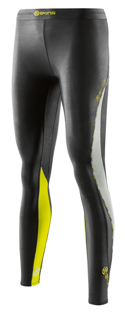 4d0bfbda923555 Just Sport | Skins DNAmic Womens Long Tights - Black/Limoncello