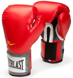 Everlast Pro Style Training Glove - Red