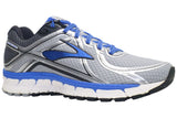 Brooks Adrenaline GTS 16 (B) - Silver/Electric Brooks Blue/Black
