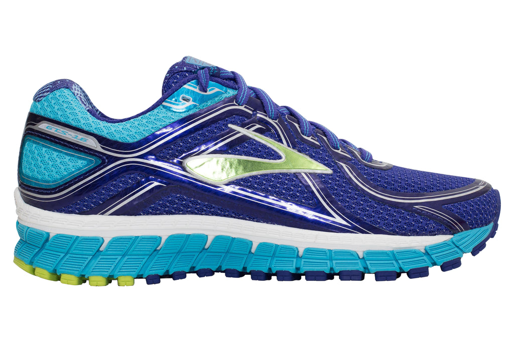Brooks Adrenaline GTS 16 - Spectrum Blue/Lime Punch/Blue Atoll