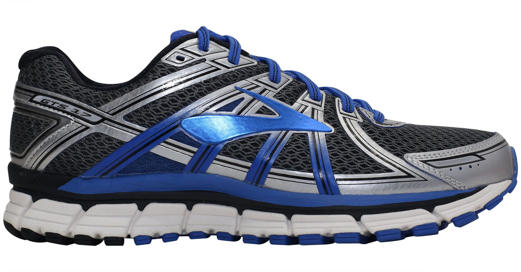 Brooks Adrenaline GTS 17 - Anthracite/Electric Brooks Blue/Silver