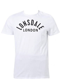 Lonsdale Ainsworth Tee - White/Black